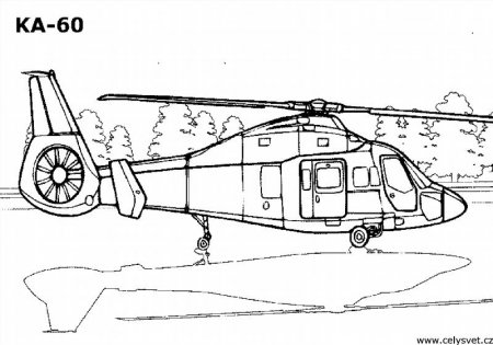 """Раскраски """"вертолеты и самолеты"""" скачать и распечатать ..."""