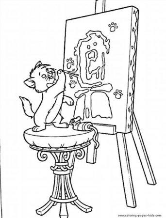 """Раскраски """"коты аристократы"""" скачать и распечатать бесплатно"""