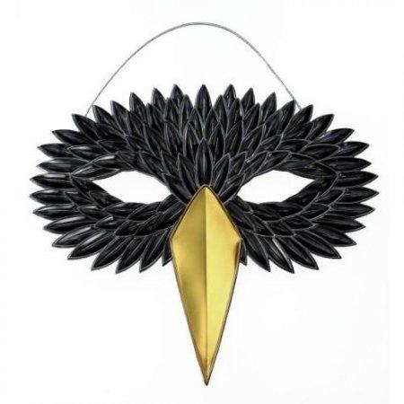 Как сделать маску вороны своим руками