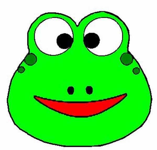 Голова лягушки своими руками из бумаги