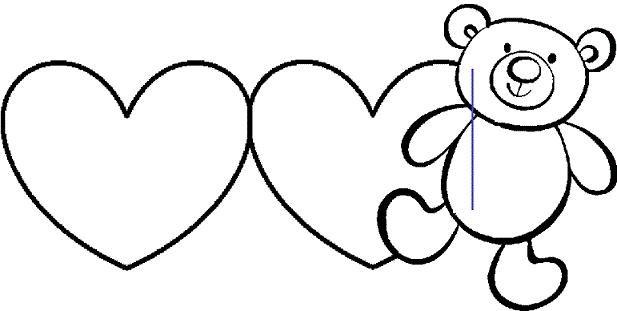 Шаблоны валентинок из бумаги
