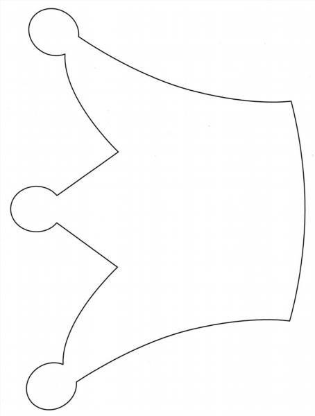 Корона  из бумаги шаблоны
