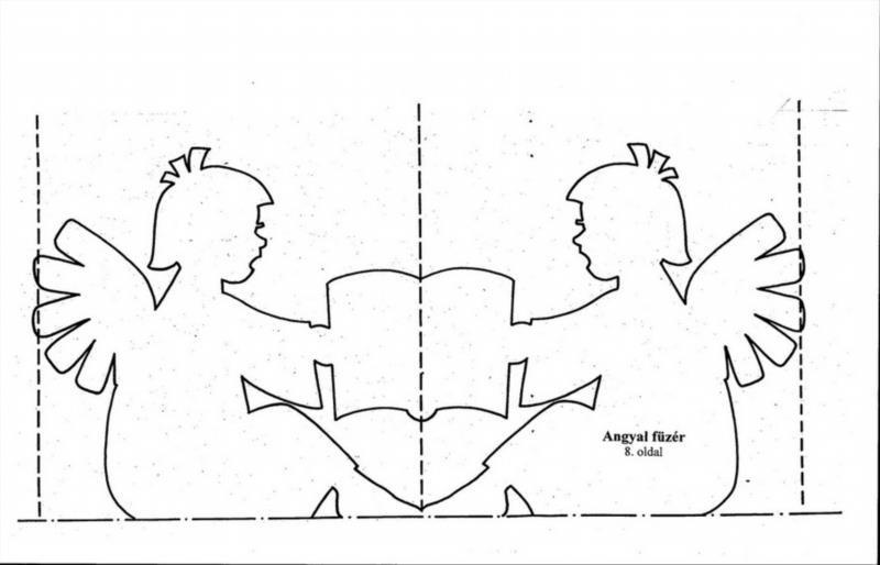 Как сделать картинку шаблоном для вырезания