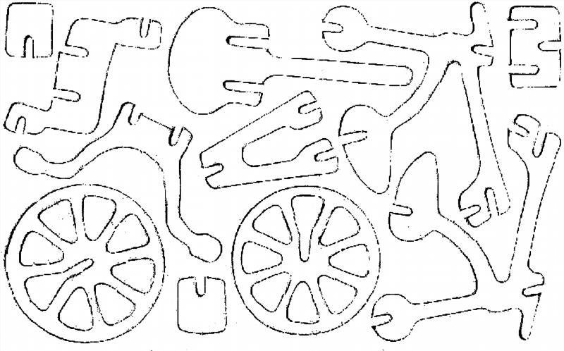 Поделка лобзиком из фанеры чертежи