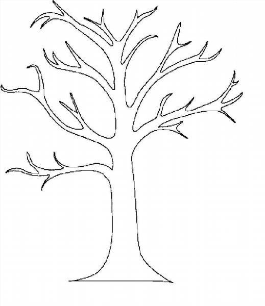 Шаблон дерева для вырезания из бумаги: скачать и распечатать