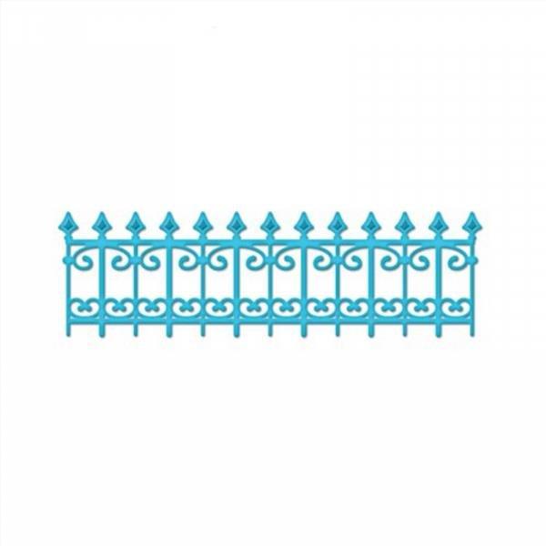 Забор из бумаги для поделки своими руками 39
