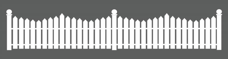 Забор из бумаги для поделки своими руками 19