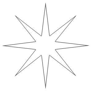 звезды шаблон скачать - фото 8