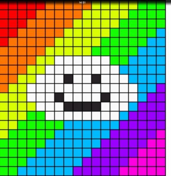 Цветные картинки для вышивки 334