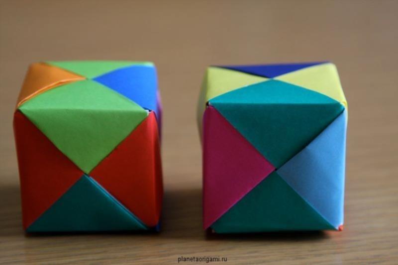 Как сделать куб своими руками видео