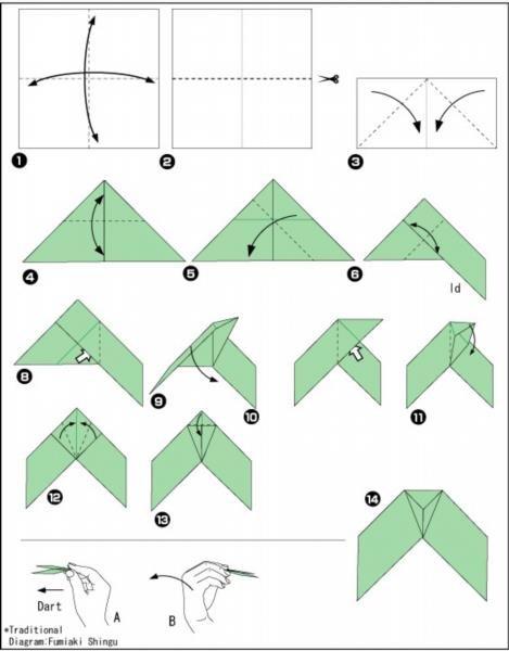 Как сделать бумеранг самолет из бумаги