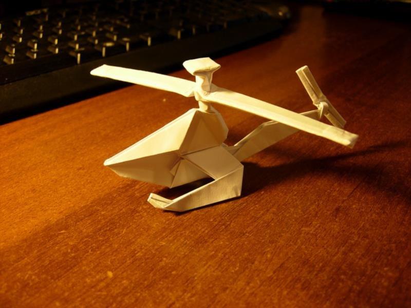 Как сделать вертолетики из бумаги