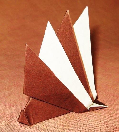 Как сделать оригами ежика из бумаги: схемы
