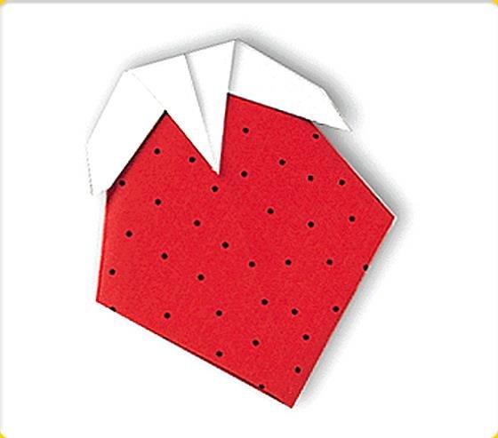 Поделка из бумаги ягодка 78
