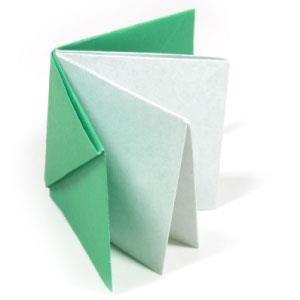 Как сделать книжку оригами из бумаги 766