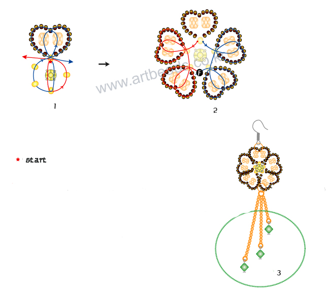 Контрольная цепь двухпроводной схемы управления стрелкой