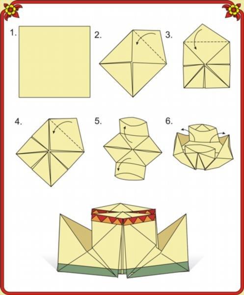 Как сделать из бумаги часы фото 910