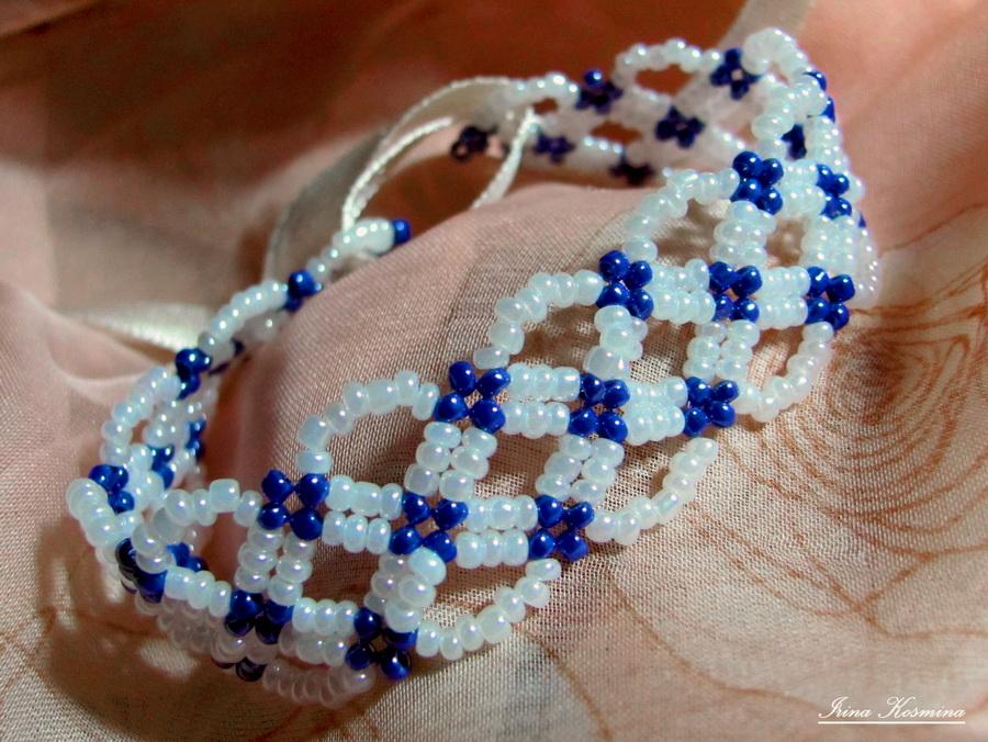 Подарок своими руками из браслет с бисером