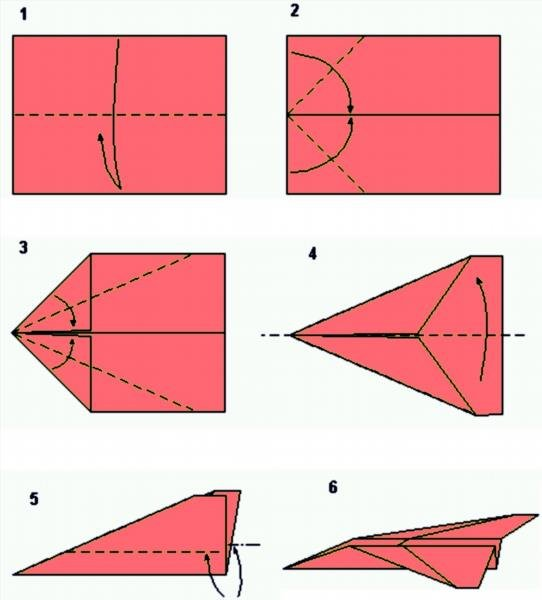 Как сделать самолет из бумаги своими руками инструкция