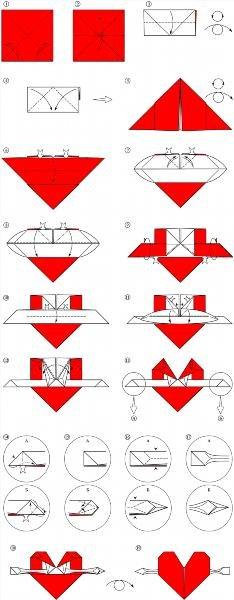 Единорог оригами из бумаги схемы
