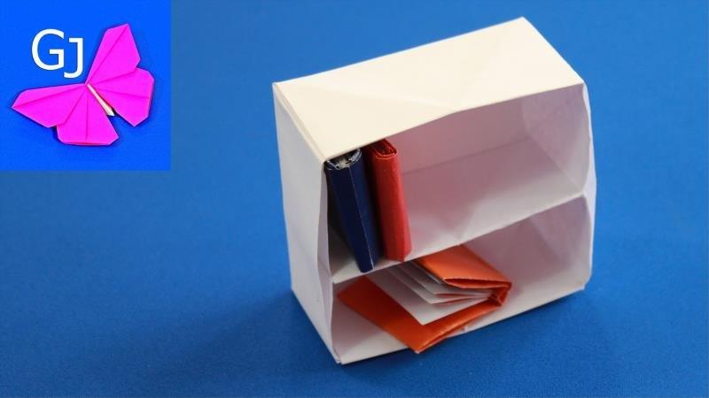Как сделать из бумаги холодильник оригами