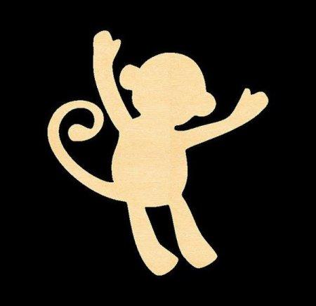пьяных обезьянки трафареты к новому году 2016 для