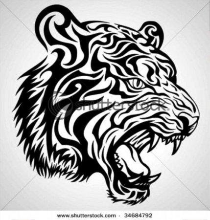 Как из бумаги сделать тигра фото 916