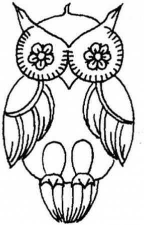 Вышивка совы схема скачать бесплатно