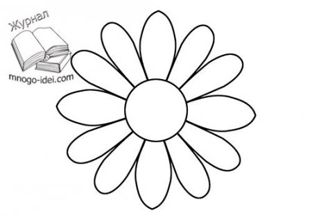 Рисунок цветок крючком схема фото 276