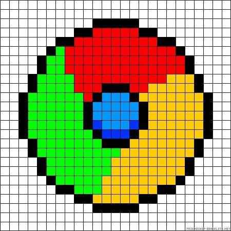 Как нарисовать гугл по клеточкам: скачать и распечатать ...