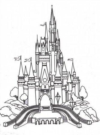 """Раскраски """"замок принцессы"""" скачать и распечатать бесплатно"""