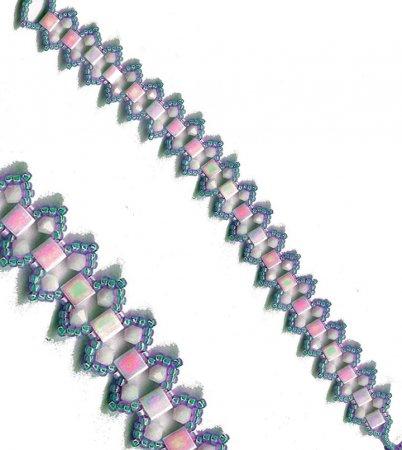 Схема плетения браслета из бисера своими руками фото 904