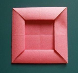 Рамка своими руками в оригами