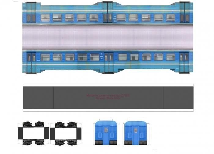 Мастер-класс по изготовлению поезда
