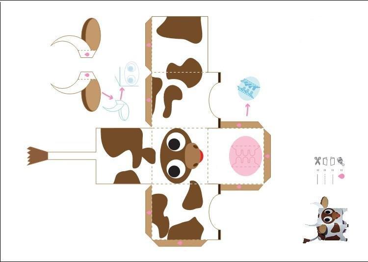 Как сделать смешариков из бумаги: схема скачать и распечатать