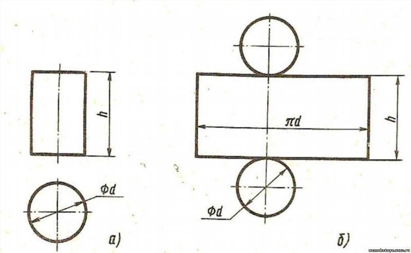 Как из бумаги сделать цилиндр 827