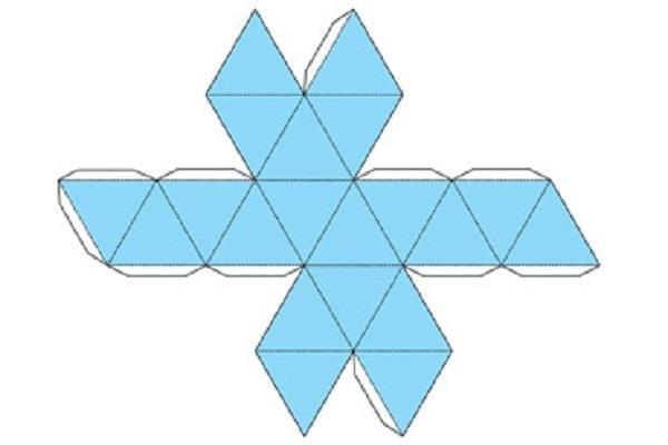 Как склеить пирамиду схема фото 181