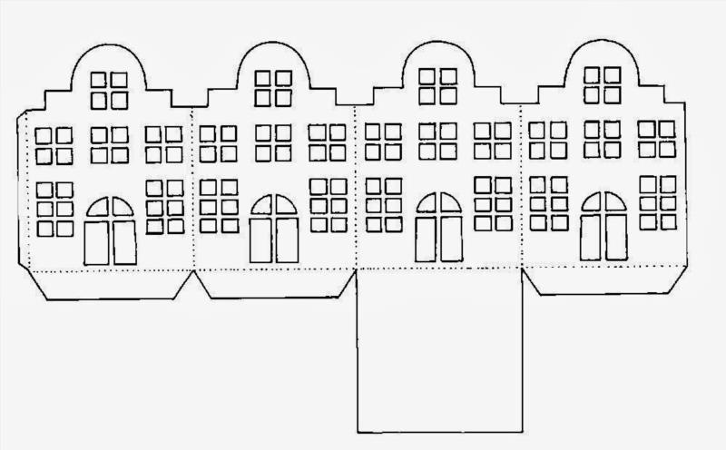 Дом многоэтажный из бумаги своими руками шаблоны