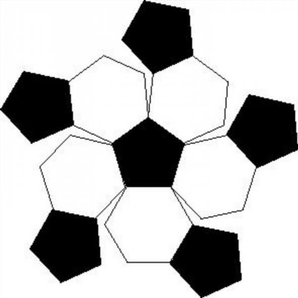 Футбольный мяч своими руками из бумаги схема 78