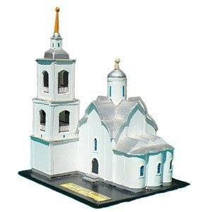 Белокаменная церковь из бумаги