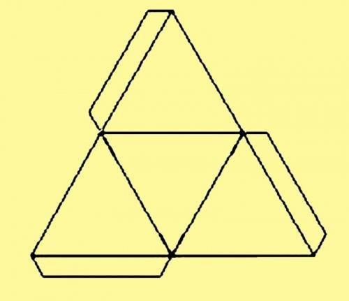 Как сделать объёмный пирамиду из картона