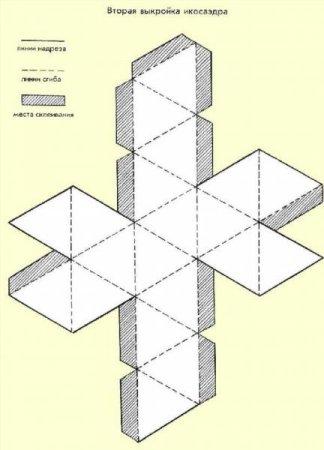 Как склеить пирамиду схема фото 143