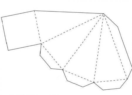 Обычная и шестиугольная объемная модель 35